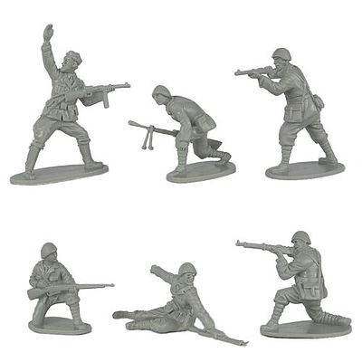 Classic Toy Soldiers WWII Italian Infantry (12) -- Plastic Model Military Figure -- 1/32 Scale -- #135