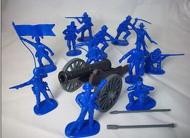 Toy-Soldiers 1/32 American Civil War Union Artillery Soldiers (12)