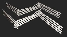 Toy-Soldiers Civil War Split Rail Fence Sections (9) Plastic Model Military Diorama 1/32 Scale #752