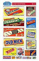 City-Classics Candy Advertising Signs HO Scale Model Railroad Roadway Sign #512