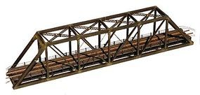 Central-Valley Truss Bridge w/Walkways Kit Single Track (11-15/32) N Scale Model Train Bridge #1820