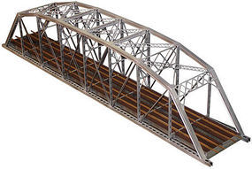Central-Valley Double Track Heavy Duty Laced-Truss Bridge Kit HO Scale Model Railroad Bridge #1900
