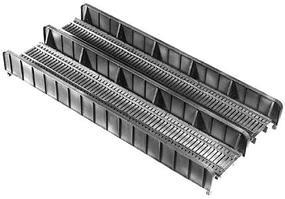 Central-Valley 72 Double-Track Plate Girder Bridge Kit - 10 x 4-3/4 25.5 x 9.5cm - HO-Scale