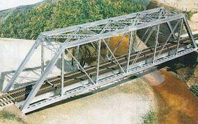 Central-Valley HO 150 Gusseted Girder Bridge Kit