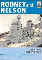 Classic-Warships Shipcraft- Rodney & Nelson Ships Military History Book #sc23