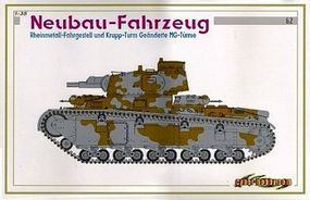Cyber Neubau-Fahrzeug Plastic Model Military Vehicle Kit 1/35 Scale #6666