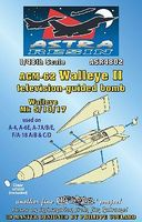 Daco AGM62 Walleye II Mk 5/13/17 Television-Guided Bomb Plastic Model Weapon Kit 1/48 #4802