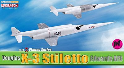 Dragon Wings Douglas X-3 Stiletto 2pak -- Diecast Model Airplane -- 1/144 Scale -- #51028
