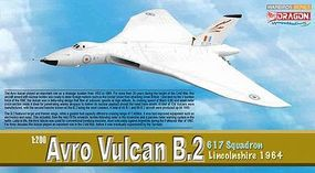 DGW Avro Vulcan B.2 617sqdn Diecast Model Airplane 1/200 Scale #52007