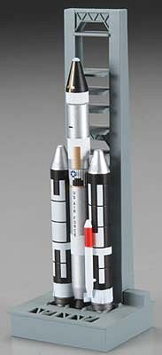 Dragon Wings Titan IIIC with Launch Pad -- Diecast Model Spacecraft -- 1/400 Scale -- #56228
