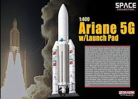 DGW Ariane 5G with Launch Pad Diecast Model Spacecraft 1/400 scale #56230