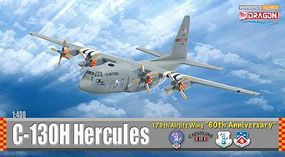 DGW C-130H Hercules 179th AW Diecast Model Airplane 1/400 Scale #56276