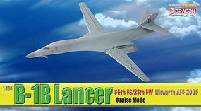DGW B-1B 34th BS/28th BW Diecast Model Airplane 1/400 Scale #56313