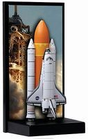 DGW Space Shuttle Atlantis Diecast Model Spacecraft 1/400 scale #56374