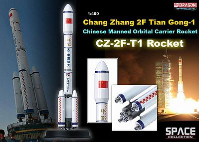 Dragon Wings CZ-2F-T1 Rocket Chang Zheng -- Diecast Model Spacecraft -- 1/400 Scale -- #56400