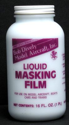Bob Dively Liquid Masking Film 16 oz