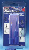 Deluxe-Materials Plastic Magic Solvent Brush 3-Pack
