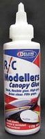 Deluxe-Materials R/C Modellers Canopy Glue 4oz 112g