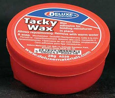Deluxe-Materials Tacky Wax Figure Adhesive 1oz 28g