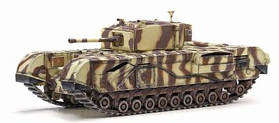Dragon Armor Diecast Churchill Mk.III 145th Royal -- Diecast Model Tank -- 1/72 Scale -- #60431