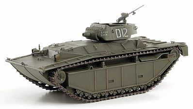 Dragon Armor Diecast LVT-A-4 3rd Armored Amphibious Vehicle -- Diecast Model Tank -- 1/72 Scale -- #60500