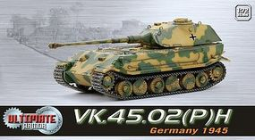 Dragon-Armor VK.45.02 GERMAN ULTIMATE Plastic Model Military Vehicle 1/72 scale #60531