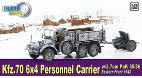 Dragon-Armor Kfz.70 6x4 PERSONNEL CARRIR Plastic Model Military Vehicle 1/72 scale #60638