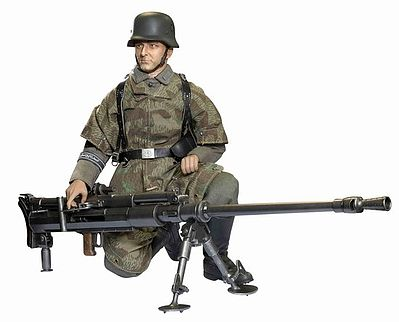 Dragon Model Figures 1:6/1:9 Leopold Nuss -- Plastic Model Military Figure -- 1/6 Scale -- #70802