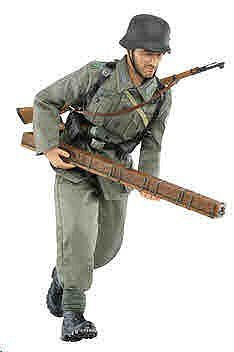 Dragon Model Figures 1:6/1:9 Kristoph Grubauer -- Plastic Model Military Figure -- 1/6 Scale -- #70809