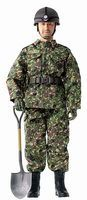 Dragon-Model-Figures Kentaro Kogure JGSDF Plastic Model Military Figure 1/6 Scale #70817