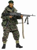 Dragon-Model-Figures Dhak Gurung GPMG Gunner Plastic Model Military Figure 1/6 Scale #70845