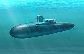 DML USS Florida SSGN 728 Missile Submarine Plastic Model Military Ship Kit 1/350 Scale #1056