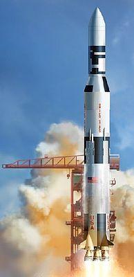 DML NASA Saturn V with Skylab Plastic Model Space Shuttle Kit 1/72 Scale #11021