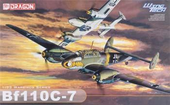 Dragon Models Bf110 C-7 Wing Tech Series -- Plastic Model Airplane Kit -- 1/32 Scale -- #3203