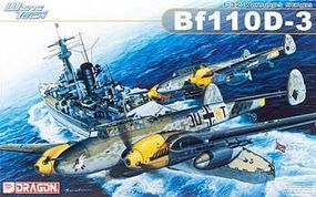 DML Bf110D3 Fighter/Bomber Plastic Model Airplane Kit 1/32 Scale #3206