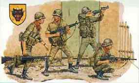DML ARVN Rangers Saigon 1968 Plastic Model Military Figure Kit 1/35 Scale #3314