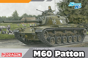 DML M60 Patton Smart Kit Plastic Model Military Vehicle 1/35 Scale #3553