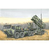 DML MIM-104B Patriot Surfact-To-Air-Missile Plastic Model Military Vehicle 1/35 Scale #3558