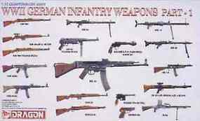 DML WWII German Infantry Weapons Part 1 Plastic Model Weapons 1/35 Scale #3809