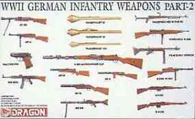 DML German Infantry Weapons Plastic Model Weapon Kit 1/35 Scale #3816