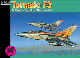 DML Tornado F3 56 (Reserve) Squadron The Firebirds (2 Kits) Plastic Model Airplane 1/144 #4582