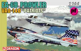 DML EA6B Prowler VAQ140 Patriots USN Fighter (2 Kits) Plastic Model Airplane Kit 1/144 #4589
