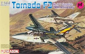 DML Tornado F3 No.111 Sq. 90th Anniversary Aircraft Plastic Model Airplane 1/144 Scale #4614