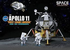 DML NASA- Apollo 11 1st Lunar Landing CSM & Lunar Module Space Program Plastic Kit 1/72 #50391