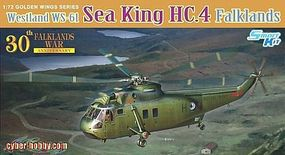 DML Sea King HC4 Helicopter 30th Anv Falklands War Plastic Model Airplane Kit 1/72 Scale #5073