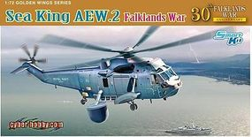 DML Sea King AEW2 Helicopter Plastic Model Helicopter Kit 1/72 Scale #5104