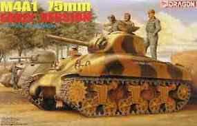 DML M4A1 Sherman 75mm Early Plastic Model Military Vehicle Kit 1/35 Scale #6048