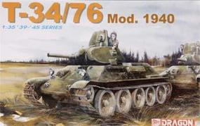 DML T34/76 Mod. 1940 Plastic Model Tank Kit 1/35 Scale #6092