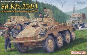 DML SdKfz 234/1 (2cm) Schwerer PzSpahWg Plastic Model Military Vehicle Kit 1/35 Scale #6298