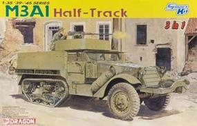 DML M3A1 Halftrack (3 in 1) Plastic Model Military Vehicle Kit 1/35 Scale #6332